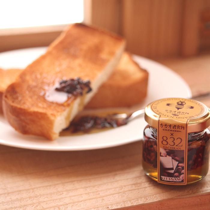 使用例④:蜂蜜と混ぜてスプレッドに